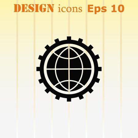 business development Icon, vector illustration. Flat design style.