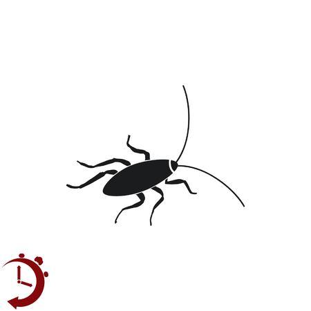 Cockroach icon, pest icon, vector illustration. Illustration