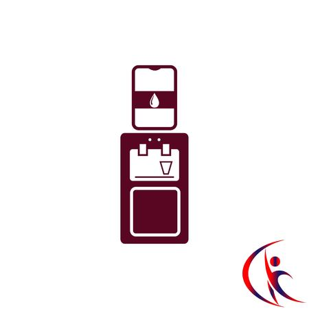 chill: Home appliances icon. Air Conditioning icon. Vector illustration. Split System. Illustration