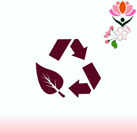 Throwing trash , recycle, pollution, recycling and eco icon. Concept of ecology problem. Flat Vector illustration. Stok Fotoğraf - 76305685