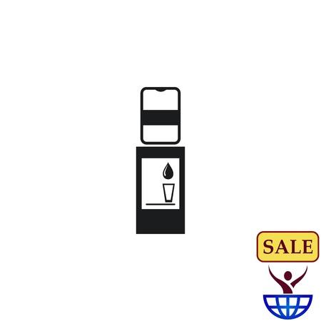 ウォーター クーラー アイコン、ベクトル図です。  イラスト・ベクター素材
