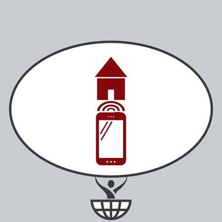 Technology innovation icon.