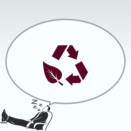 Throwing trash , recycle, pollution, recycling and eco icon. Concept of ecology problem. Flat Vector illustration. Stok Fotoğraf - 80915066