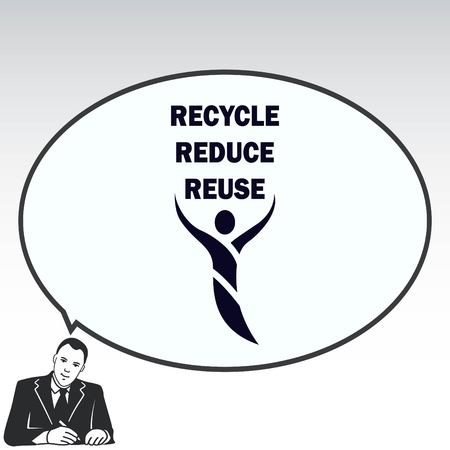 Throwing trash , recycle, pollution, recycling and eco icon.