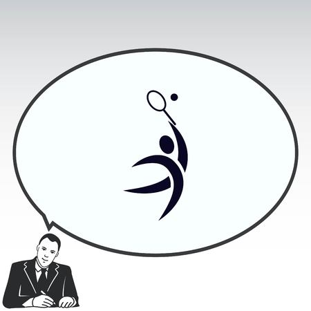 Sport icon , vector illustration. Flat design style