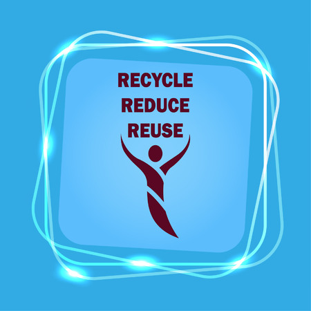 Throwing trash , recycle, pollution, recycling and eco icon. Concept of ecology problem. Flat Vector illustration.