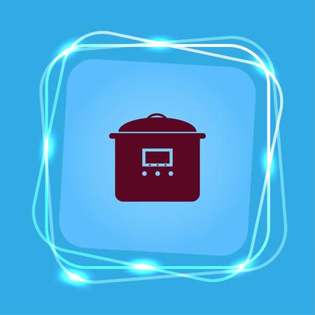 Home appliances icon. Illusztráció