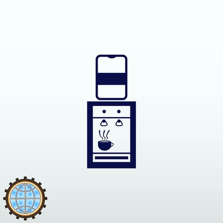 Water cooler icon vector illustration.
