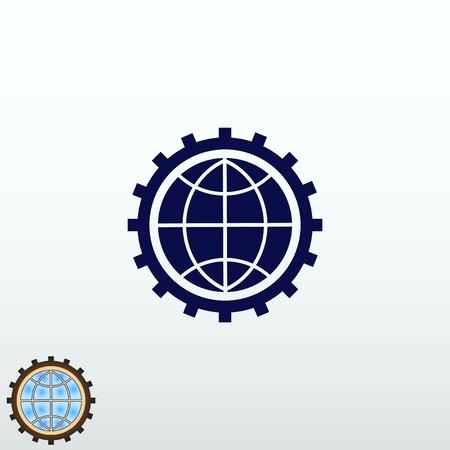 Business development Icon, vector illustration. Flat design style. Ilustração