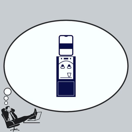 Home appliances icon. Çizim