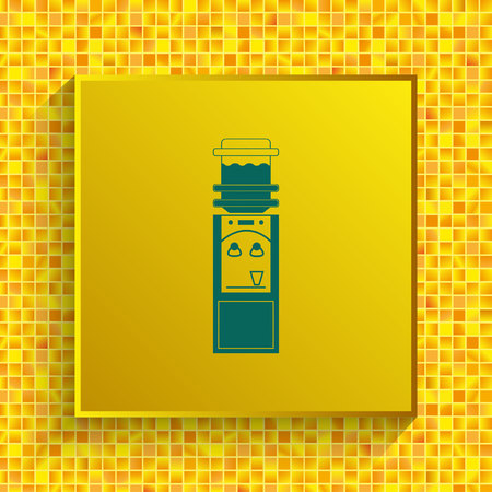 Water Cooler icon, vector illustration. Illustration