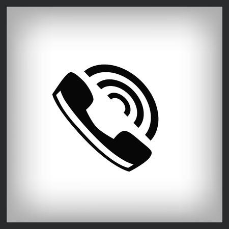 Phone icon , vector illustration.
