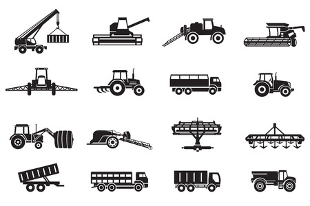 agricultural: Agriculture machines tractors combine and equipment