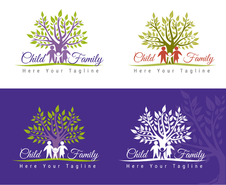 Family care  design. Child Care and Medical Services. Child freedom and active lifestyle.