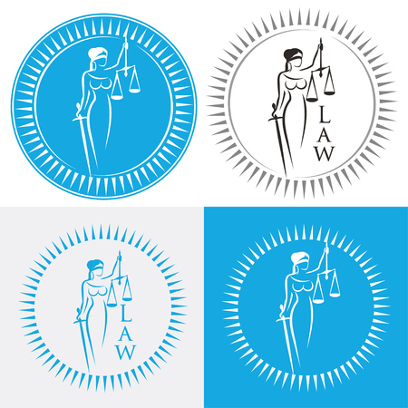 Lady justice. Greek goddess Themis. Equality. Fair trial. Law. Themis with scales and sword. Themis goddess of justice. Femida illustration. Lady goddess of justice symbol.
