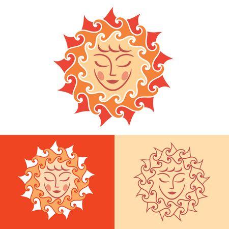 sun red Archivio Fotografico - 131452622