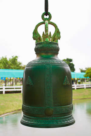 Bells at temples in Thailand photo