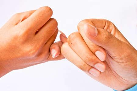 Hand to hand photo