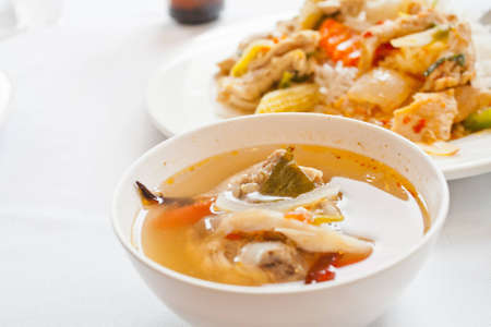 Thai food Soup