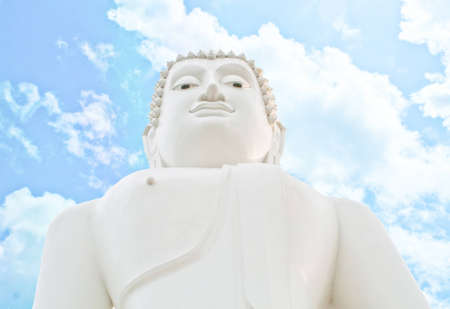 Buddha thailand on blue sky Stock Photo - 11404858