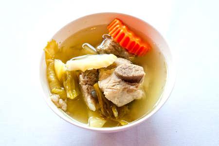 Thai food soup photo