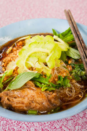Thai Chicken noodle photo