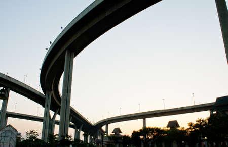 Industrial Ring Road Bridge Stock Photo - 13443068