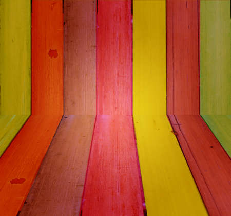 Texture of bamboo chair photo