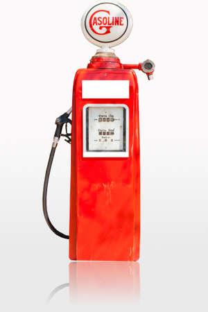 Dispensadores de combustible sobre un fondo blanco Foto de archivo - 14411247