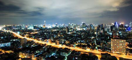 City view at Bangkok Thailand