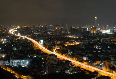 City view at Bangkok Thailand photo
