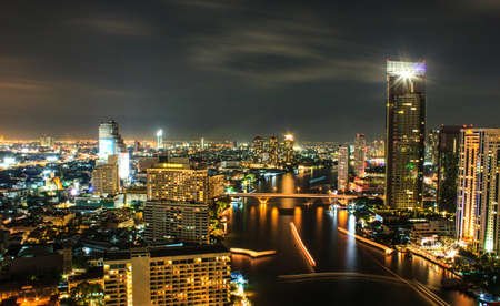 City view at Bangkok Thailand Stock Photo - 16704963