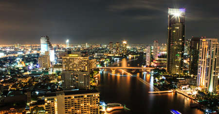 City view at Bangkok Thailand Stock Photo - 16704957