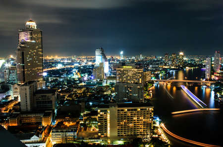 City view at Bangkok Thailand Stock Photo - 16704960