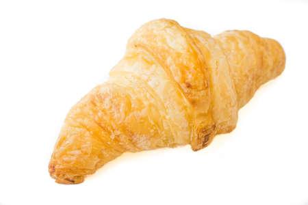 Croissant isolate on white background Stock Photo