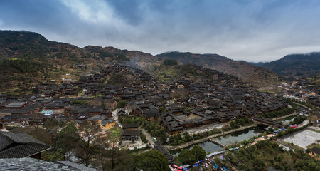 miao: Xijiang Miao Village in Guizhou, China