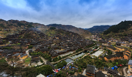 miao: Xijiang Miao Village in Guizhou, China