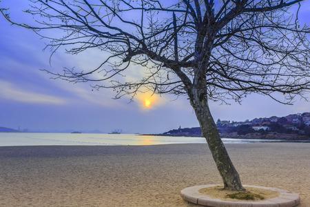 the color of silence: Sunset Beach