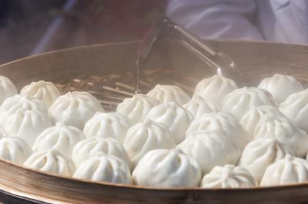 buns: bollos al vapor