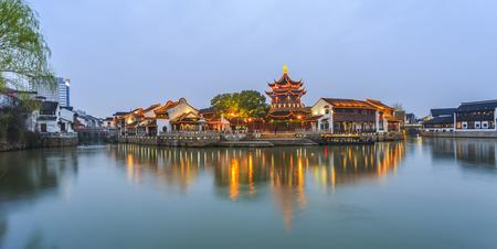 Shantang Street, Suzhou, China Standard-Bild - 41057751