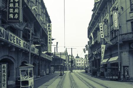 Chinese old buildings in Shanghai
