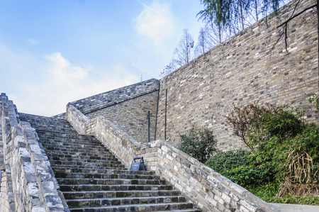 amp tower: Chinese ancient buildings Stock Photo