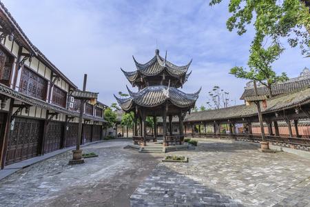 chengdu: Old town in Chengdu