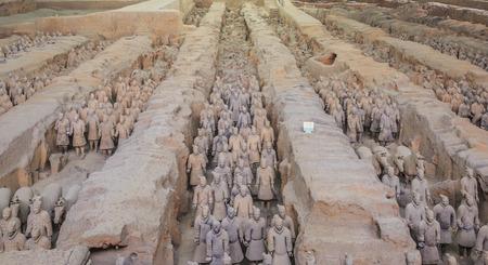 terracotta: Terracotta Warriors in Xian