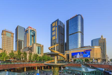 chengdu: Tianfu Square in Chengdu