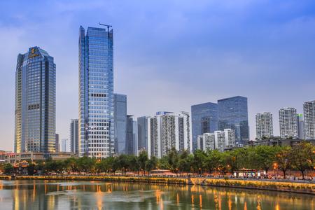 chengdu: Scenert of Jinjiang, Chengdu