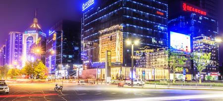 night scenery: Night scenery of Xian