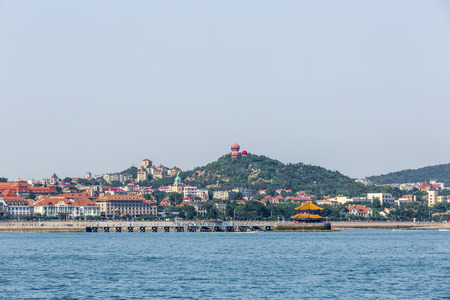 scenic: Qingdao scenic Stock Photo