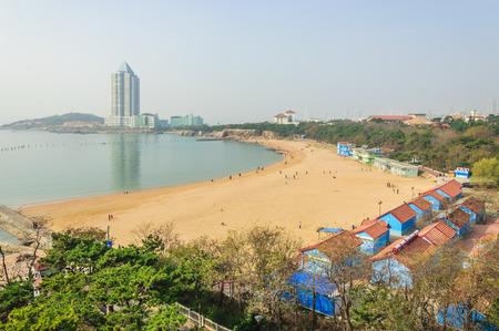 Qingdao Badaguan landscape Standard-Bild
