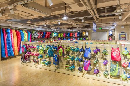 sports gear: Outdoor store